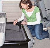 Brandup Noise reducing carpet set (sides only) for VW T5 California