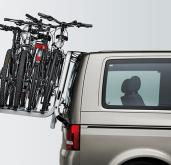 VW T5 California SE & Beach Tailgate Bike Rack, holds 4 bikes (Comes fully assembled)