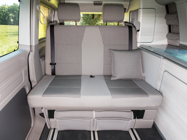 100 705 744 Brandrup Second Skin For 2 Seater Bench Vw T6