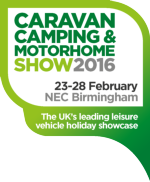 Caravan, Camping & Motorhome Show 2016 -  23rd - 28th February 2016