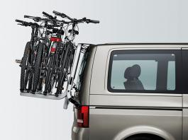 Vw T5 California Se Amp Beach Tailgate Bike Rack Holds 4