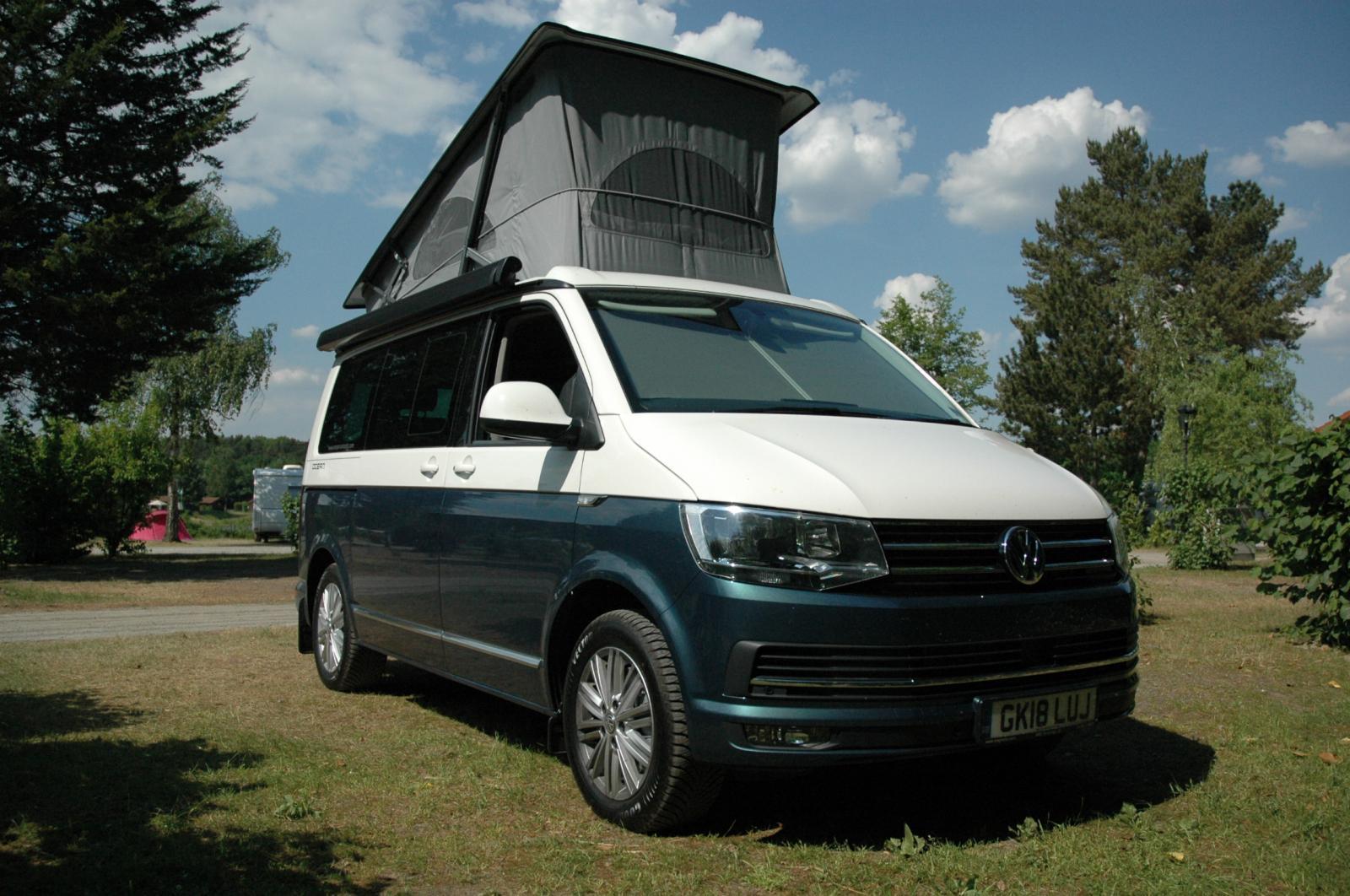 VW California Ocean Camper Van T6 2018 Candy White & Bamboo Green 2 0lt  BiTDi 204 PS 7 Speed DSG Automatic