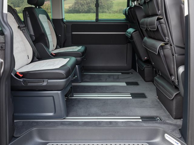 Brandrup Vw T6 T5 Multivan Caravelle Velour Capet With Two