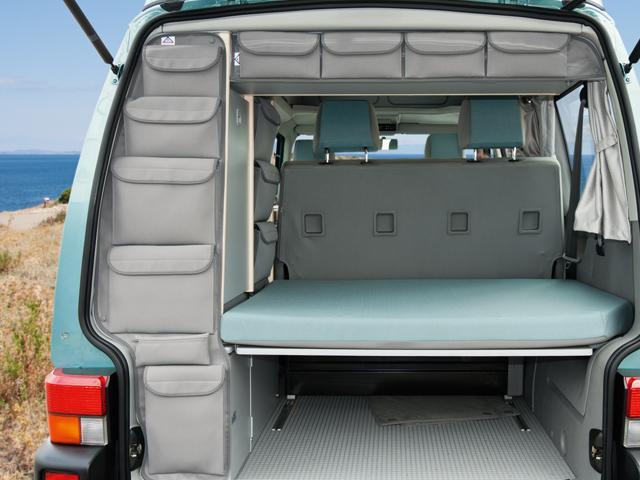 brandrup storage pockets vw t4 california coach for roof storage box or wardrobe moonrock grey. Black Bedroom Furniture Sets. Home Design Ideas
